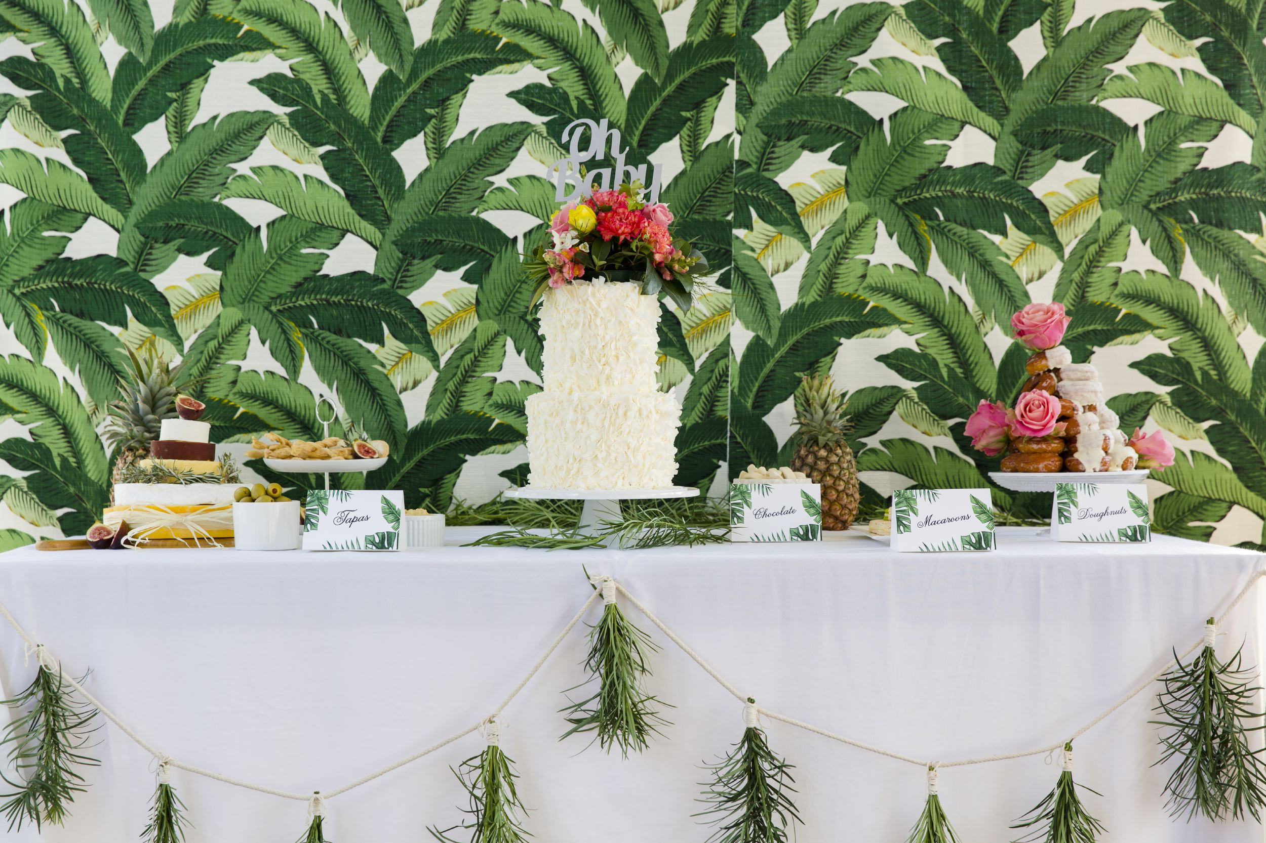 tropical baby shower foreva events