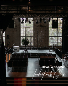 Industrial Chic Wedding by Foreva Events Brisbane Wedding Planner and Stylist